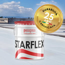 Impermeabilizza qualsiasi superficie senza rimuovere il vecchio: mpm Starflex